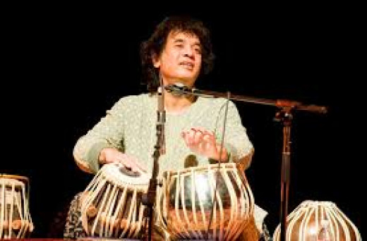 Indian Musical Instrument 'Tabla' : Artist Zakir Hussain