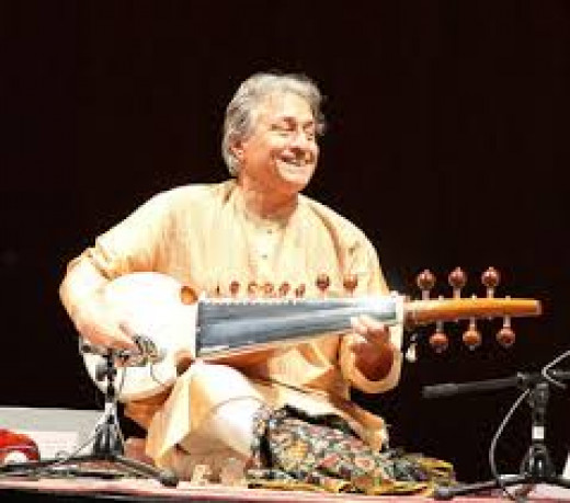 Indian Musical Instrument 'Sarod': Ustad Amzad Ali Khan
