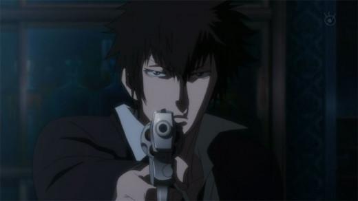 Enforcer Shinya Kogami tracks down the nefarious  Shogo Makishima.