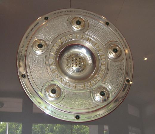 The Meisterschale / Bundesliga trophy.