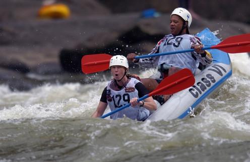 White Water Rafting is very popular.