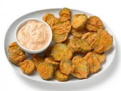 Quick and Easy Fried Pickles