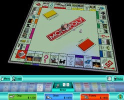 Playing Virtual Monopoly Board Game