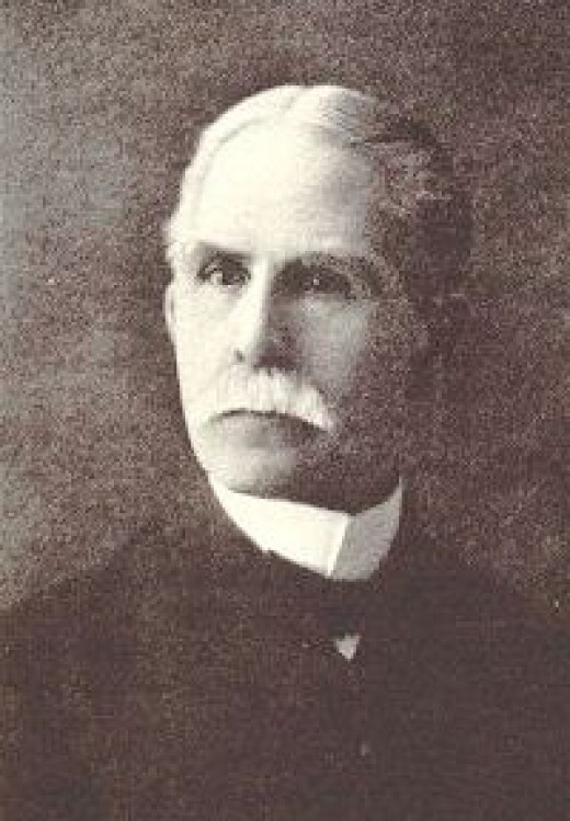 "Elisha A. Hoffman wrote a portion of the lyrics to the hymn and the music for the hymn, ""Leaning On The Everlasting Arms.""  Source: http://cyberhymnal.org"