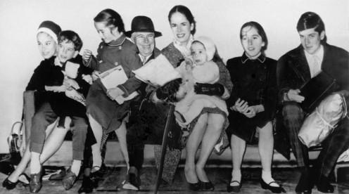 The Chaplin Family, 1961