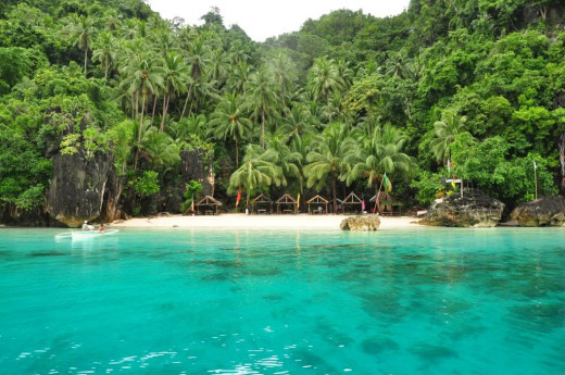 Bitaog Beach in Dinagat Island