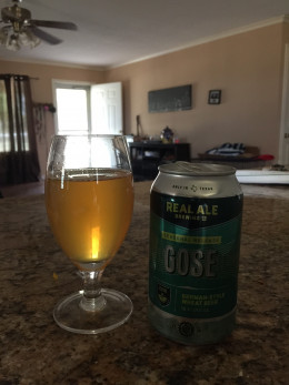 Real Ale Brewing Company's Gose German-Style Wheat Beer