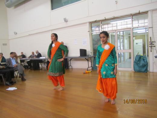 Dancing at a Seniors Group