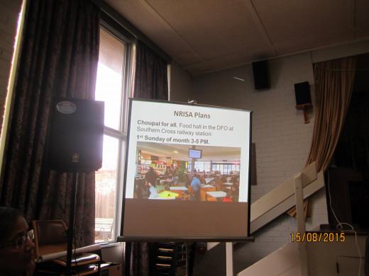 NRISA Seniors Group launching 'Chaupal' Programma.