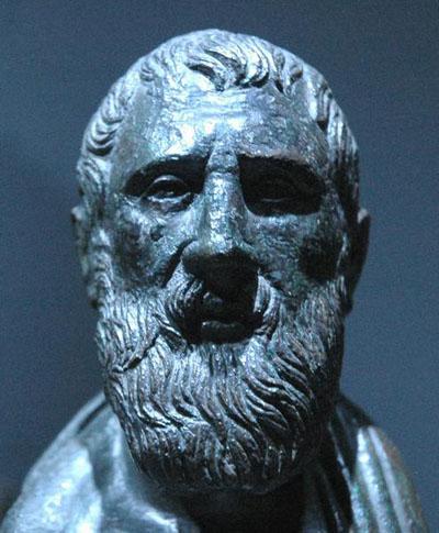 Parmenides's student, Zeno