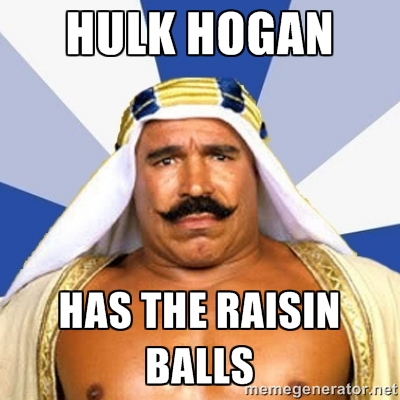 Another issue Hulk Hogan apparently has