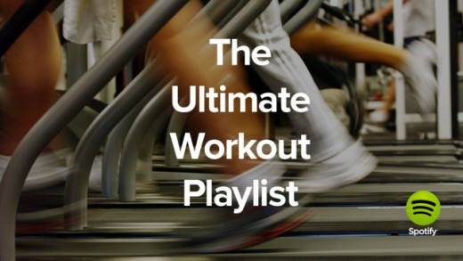 Having access to million of songs means also being able to choose the best music for every moment. Spotify offers several ready playlists: this advert, for example, is related to Spotify workout playlists! Because gymnastics is more funny with music!