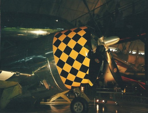 Nose of P-47 at the Udvar-Hazy Center