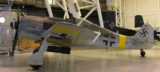 The FW-190 at the Udvar-Hazy Center