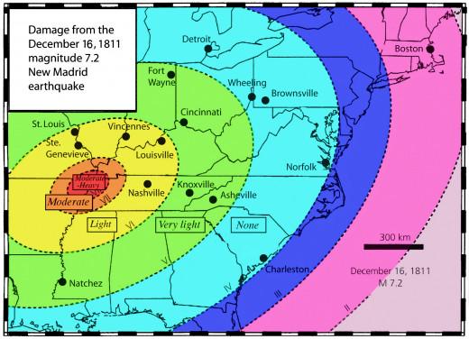 1811-1812 New Madrid Earthquake
