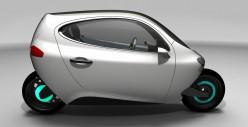 Lit Motors C-1 Self-Balancing Electric Vehicle