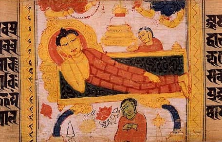 Death of the Buddha.