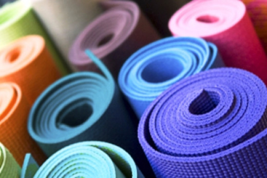 Follow the image source for a little more on yoga mats!