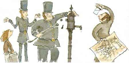 Dr.John Snow  took his research to the town officials and convinced them to take the handle off the pumps.