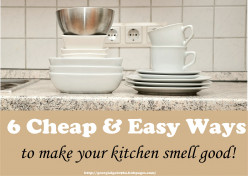 6 Cheap & Easy Ways To Make Your Kitchen Smell Good
