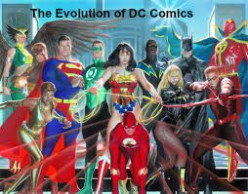 The evolution of DC comics