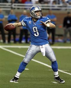 Matt Stafford is becoming more polished in Jim Caldwell's offense.