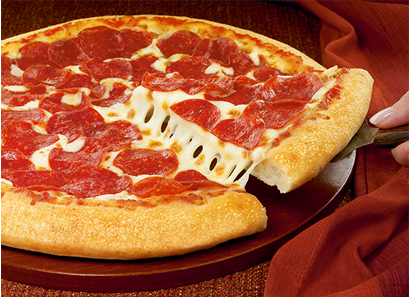 I choose pepperoni over cheese, but it's whatever taste buds you reside with.