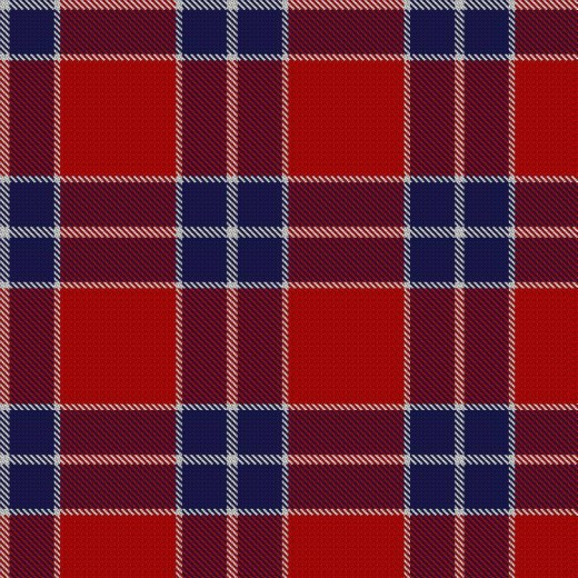 'Southern Cross' tartan celebrating the Confederate surrender at Appomattox, Virginia. April 9th, 1865 - 2015; 150th Anniversary.