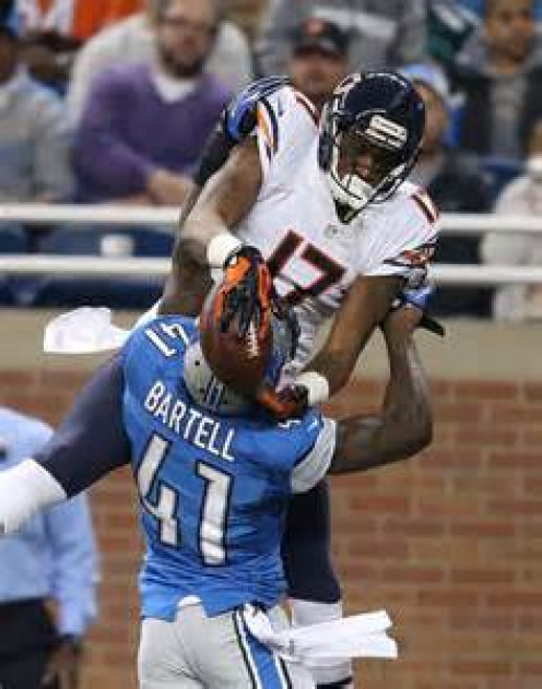 Alshon Jeffrey has incredible hands and focus on the field.