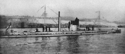 German submarine U-9 (1910).