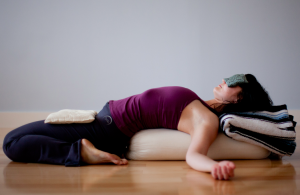 Restorative yoga is wonderful to relieve joint swelling and pain and increase felxibility.