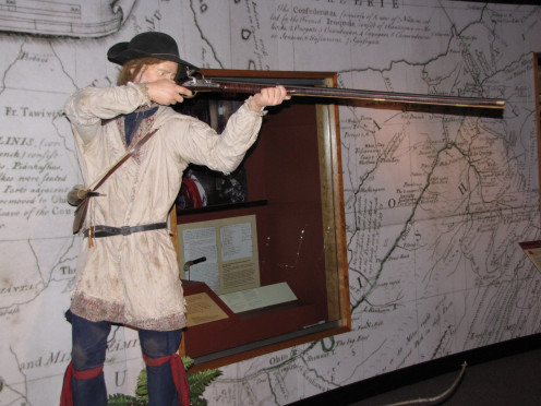 Exhibit At Fort Pitt Museum