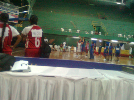 A pic clicked by dad at one of my tournaments