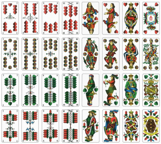 German Card Version