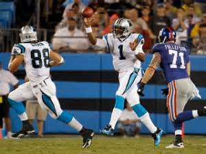 Cam Newton and Greg Olsen always seem to be on the same page that's why they are successful.