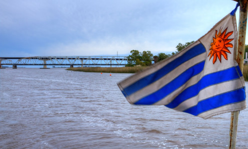 Navigating the Santa Lucia River