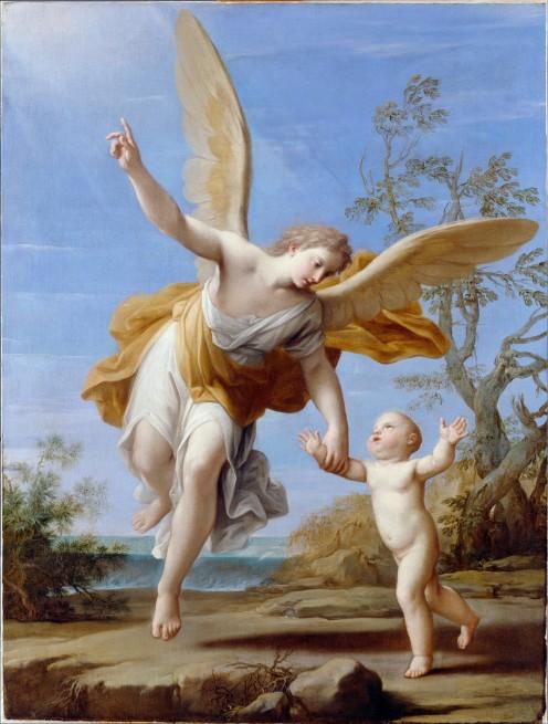 "Marcantonio Franceschini's ""Guardian Angel"" 1716"