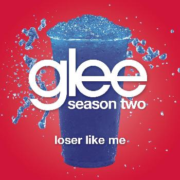 The Loser Like Me song's cover. In the cover you see an iced drink, because Glee club's members are often hit with iced drinks by bullies. Some Glee's songs have the iced drink painted in their  covers!