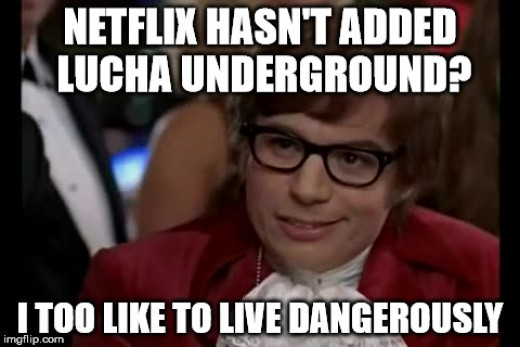 Just another gentle nudge Netflix. That's all!
