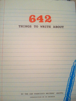 642 Things to Write About #2