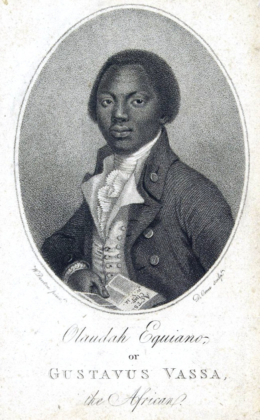 Portrait of Olaudah Equaino