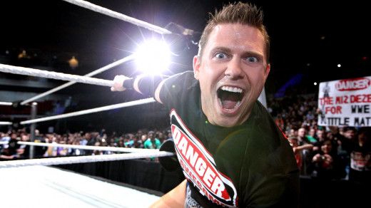 The Miz, the only one to benefit from the trainwreck of a segment Monday