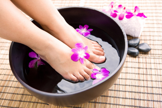 DO-IT-YOURSELF Foot Spa is made easy.