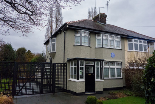 Visit John Lennon's Liverpool home