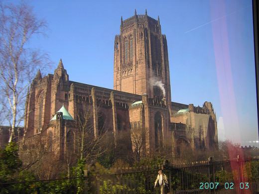 The magnificent Anglican Cathedral, Liverpool