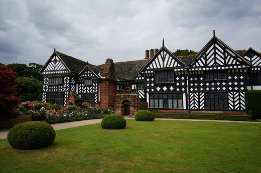 The black and White beauty of Speke Hall