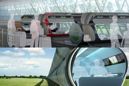 Top: concept design of an ET3 terminal. Bottom: a peek into the future?