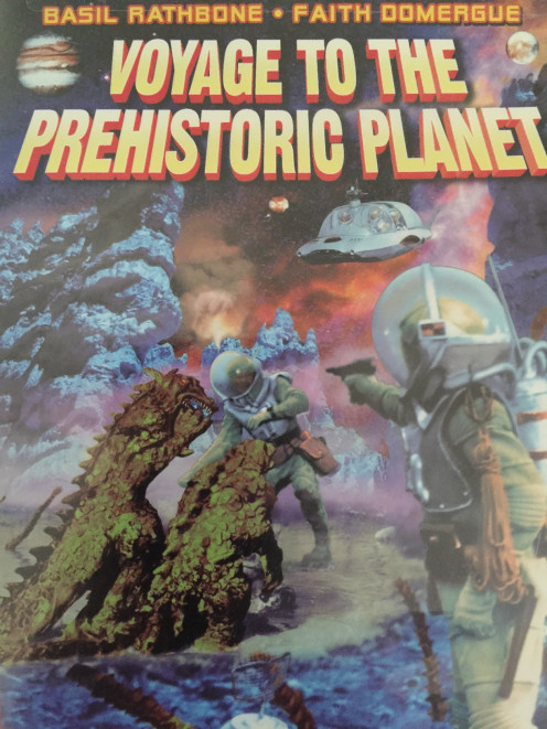 Stop going forward and instead travel outward and backwards to a distant prehistoric planet!