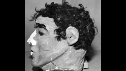 Actual Paper Mache Head Used By Clarence Anglin, John and Frank Morris