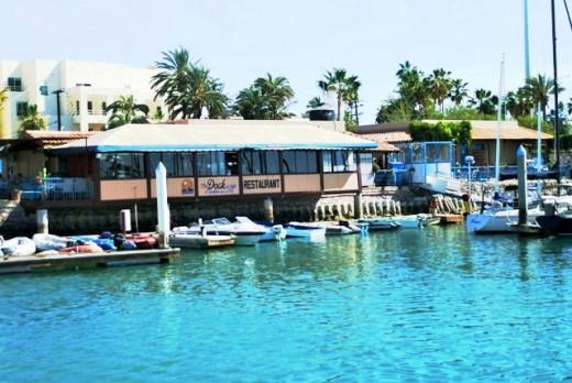 Dock Café... Marina de La Paz